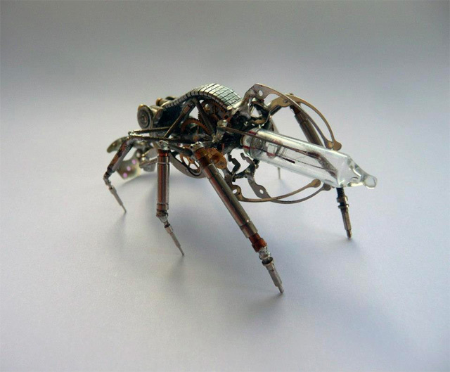 Mechanikus, steampunk ízeltlábúak halloween alkalmából - Nemigen! Magazin
