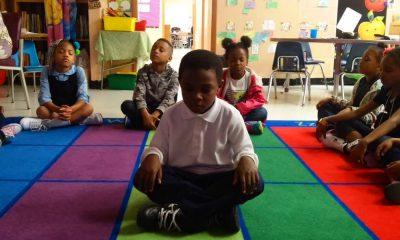 Meditáció az általános iskolában és nincs több kezelhetetlen gyerek