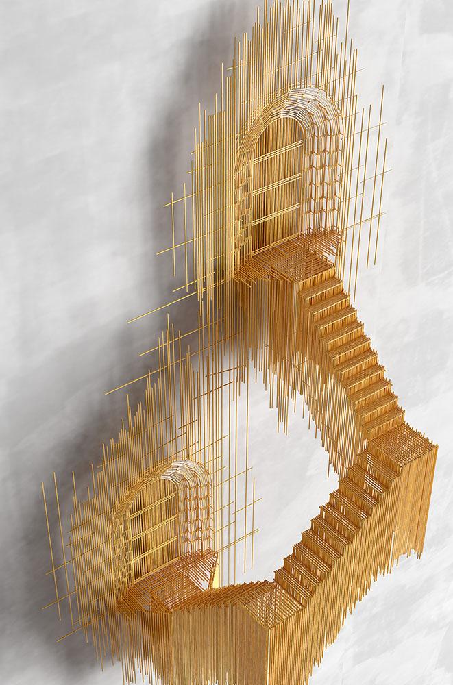 Házak cölöpökön, lépcsők fapálcákból, azaz szobrok pálcikákból. – Nemigen! Magazin