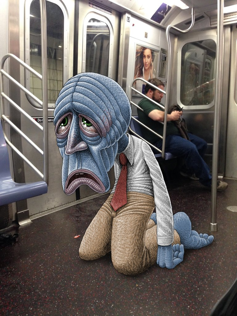 Szörnyek settenkedek a gyanútlan metrózók között – Nemigen! Magazin