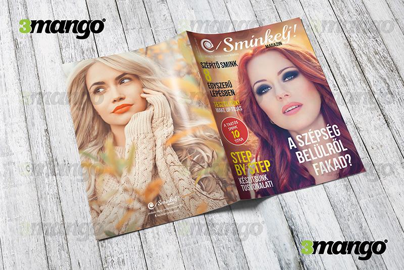 Magazin tervezés, kiadványszerkesztés, grafikai tervezés - 3 Mangó - Grafikai szupport - Blog