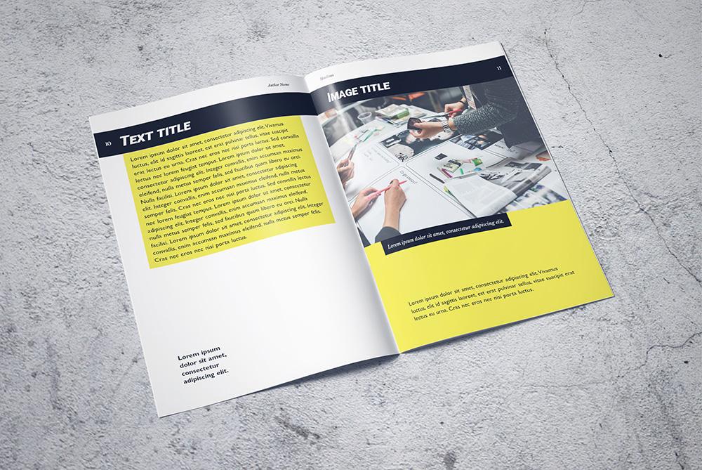 Formabontó dizájn portfólió katalógus szolgáltatás bemutatására - 3 Mangó - Kiadványszerkesztés