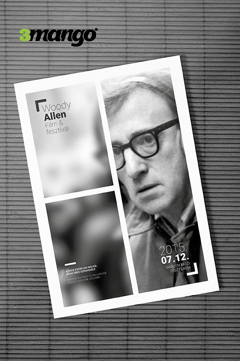 Plakát és szórólap grafikai tervezés, modern stílusos formában - Kiadványszerkesztés - 3 Mangó