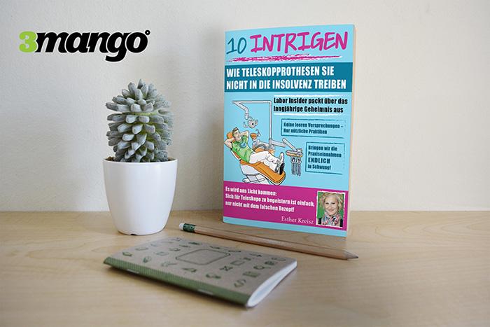 Marketingszemléletű könyvborító grafikai tervezés & készítése - 3 Mangó