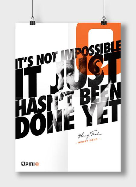 Tipografikus plakát tervezés és készítés nem csak marketing célból - Kiadványszerkesztés - 3 Mangó