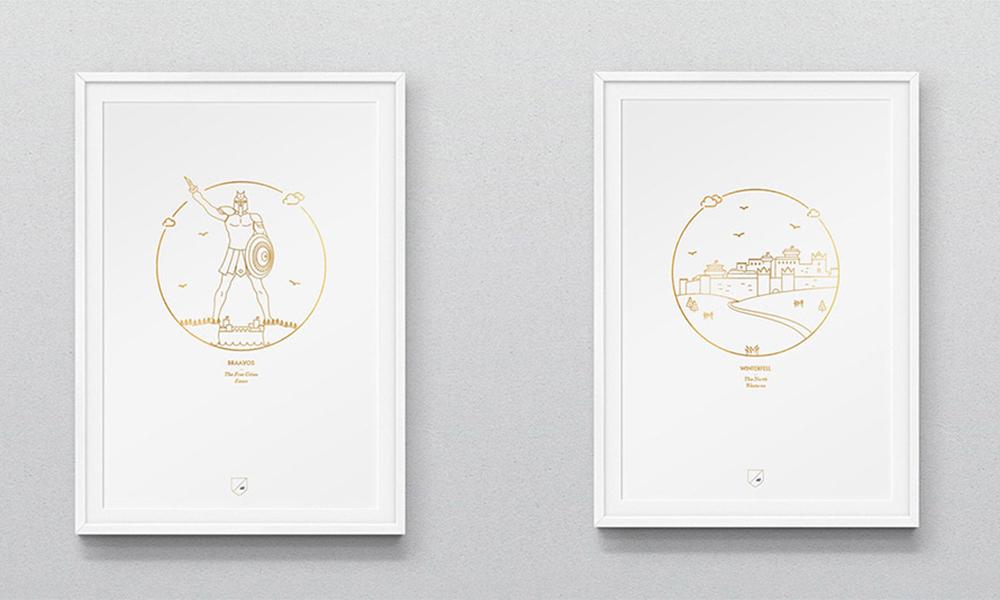 Trónok harca várak átértelmezve kreatív poszter sorozatban - 3 Mangó