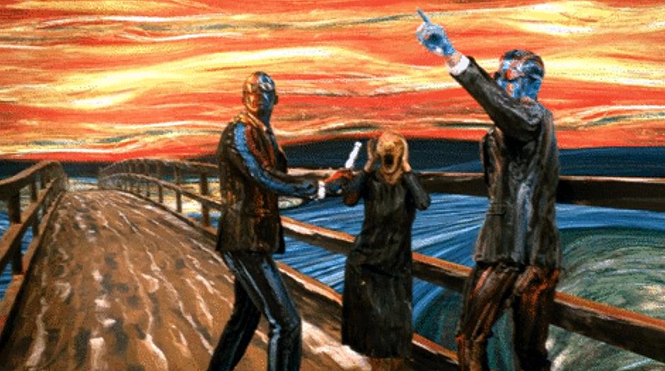 Edvard Munch - Sikoly - 3 Mangó Blog