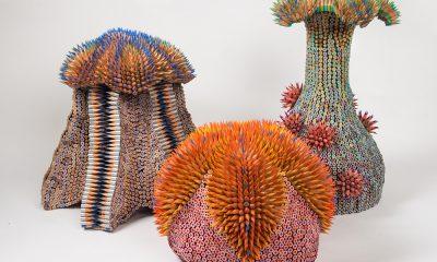 Túlvilági szobrok ceruzákból