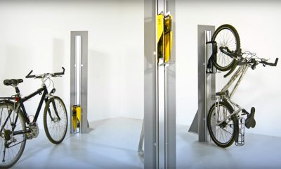 Helytakarékos biciklitároló – Nemigen! Magazin
