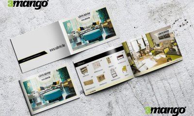 Exkluzív katalógus készítés, lakberendezési / interior termékek bemutatása - Kiadványszerkesztés - 3 Mangó