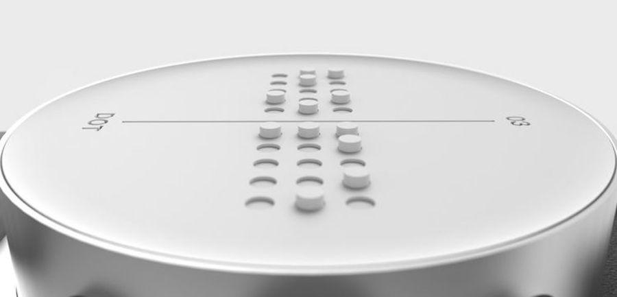Az első Braille okosóra vakoknak és gyengénlátóknak - 3 Mangó Blog