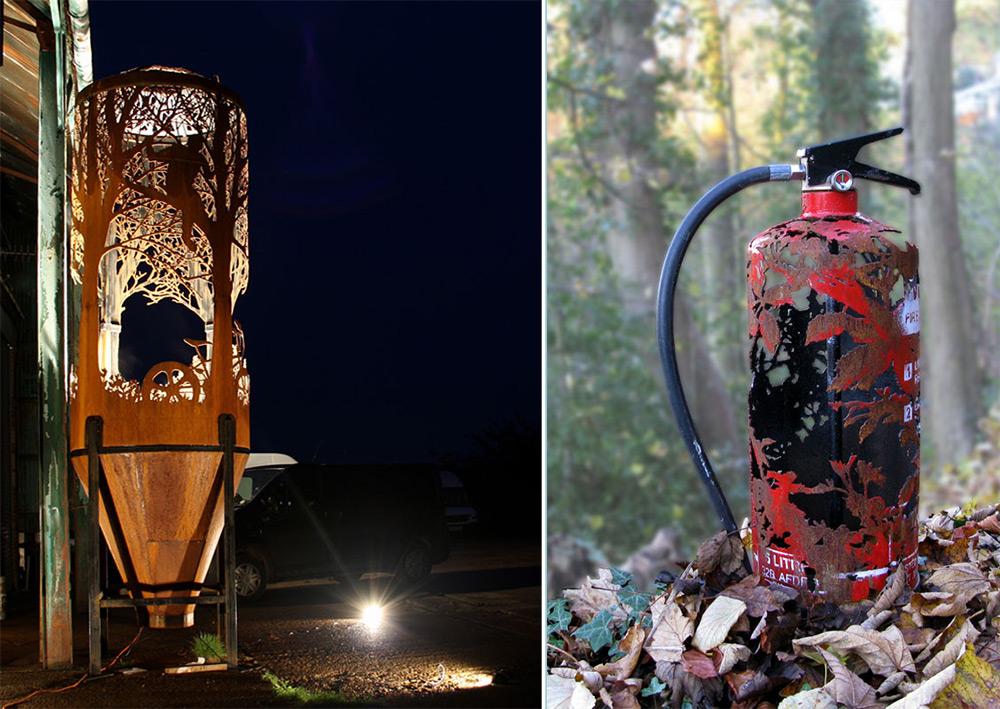 Erdővé faragott autó és víztározó - 3 Mangó Blog