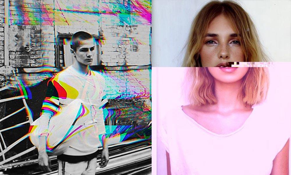 """Design trendek 2018: """"Glitch"""" hatás - 3 Mangó blog"""
